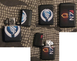 Mass Effect Lighter by Spoogey