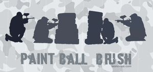 Paintball Brush by leofiger