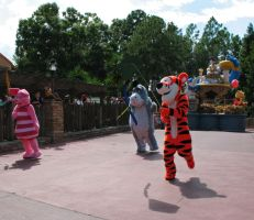 Tigger and Friends on Parade by WDWParksGal-Stock