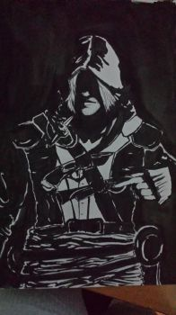 edward kenway by massaku