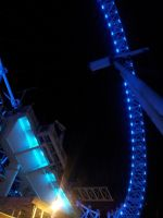 London Eye at night by Saliona93