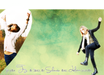 Gib jedem Tag die Chance - Happy - Layout by bluemju