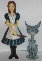 Alice and Chesire Cat by Nite-Lik