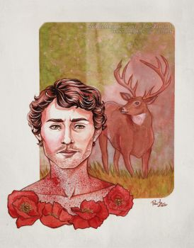 Hannibal NBC: Will Graham by ScarletMoonbeam