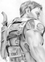 Chris Redfield by Anne86