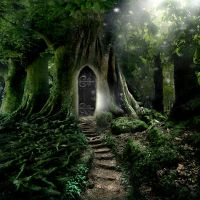 Doorway to Lothlorien by ArwensGrace