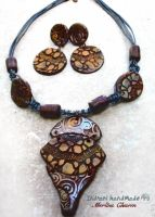 Necklace Merlins Charm 3 027 by indrani-handmade