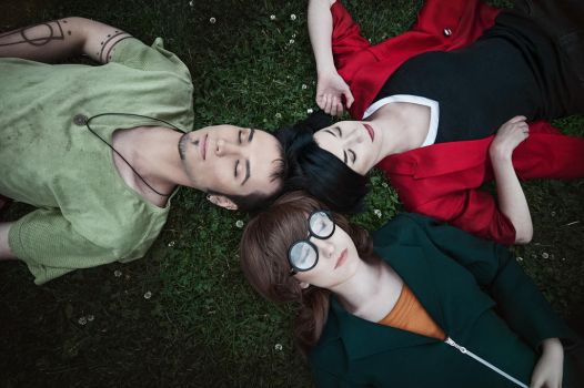 Daria, Jane and Trent - Daria cosplay by LuckyStrikeCosplay