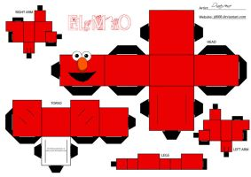 Elmo by Cubee-acres
