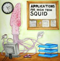 Squid by Lozzyboo