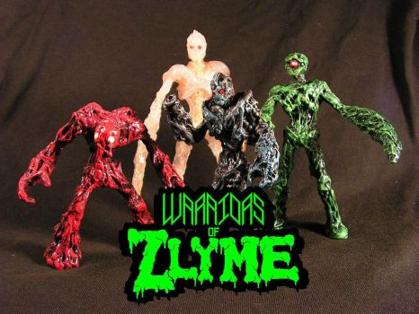 Warriors of Zlyme!!! by monsterforge