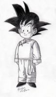 Goten - Sketch #1 by Jaylastar