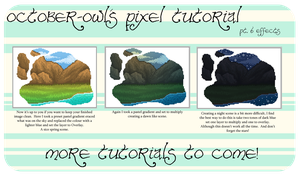 Pixel Tutorial pt 6 - Effects by October-Owl