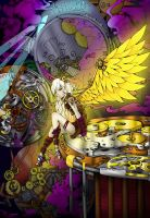 Contest - Steampunk Angel by TheLuckChild
