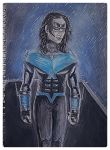 Nightwing- Bludhaven's Knight- WIP 2 by WushuKhanKu96