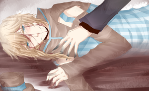 IC: Sleep, my brother by kimbap-chan