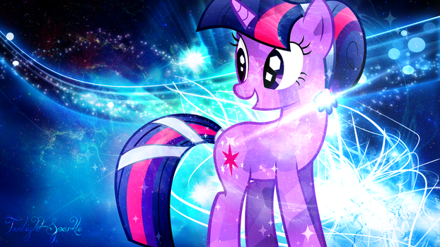 Twilight Sparkle crystallized by LuciLove17