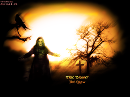 The Crow Wallpaper by marcoshypnos
