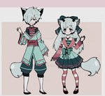 kemonomini adoptable batch OPEN  SET PRICE by Diana-AS