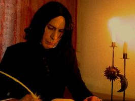 Myself as WilliamSnape by WilliamSnape