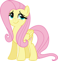 Fluttershy is happy for her brother by Osipush