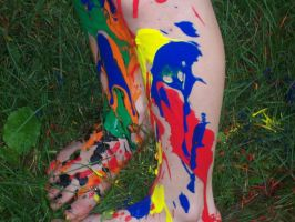 Painted Legs be Painted by LunaPicture