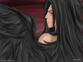 Madara: Corrupted by darkness ~ by Hatake-Flor