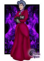 Disney Villains: Lady Tremaine by Grincha