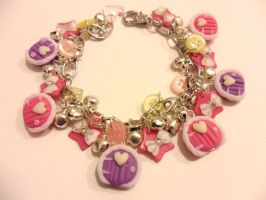 MLP inspired fairy door charm bracelet by Stefimoose