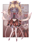 Zombie doll | OPEN AUCTION | adopt by Kaeni-Designs