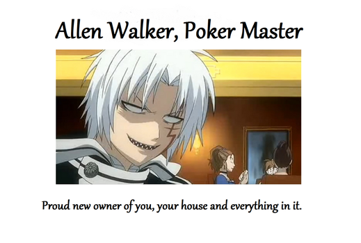Allen Walker Motivational by deldel2
