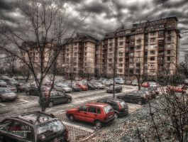 Poem about parking lot by Piroshki-Photography