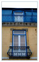 Windows of Old Lisbon I by FilipaGrilo
