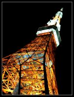 A clasic - Tokyo tower by mistymoonlight