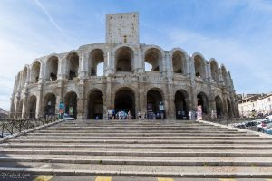 Arles Ampitheatre - north view by CyclicalCore