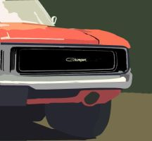 69 Charger by cycoart