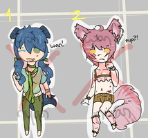 Kemonomimi Adopts (Closed) by WanNyanAdopts