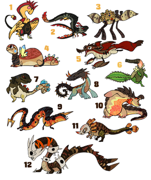Themed Adoptables Desert CLOSED by Stormful