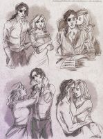 Commission82 - Ambrose/Amelia sketchpage by Nike-93