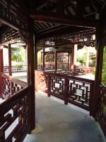 Chinese Garden V by MorgainePendragon