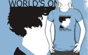 World's Only Consulting Detective Tee by drawingdream