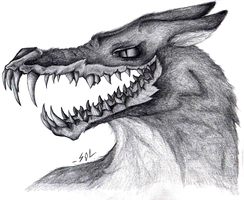 Hell Wolf by InfinityFangX