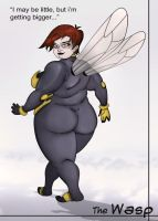 Fat Wasp by Chronorin