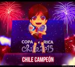 Chile Campeon Copa America 2015 by Naikoh