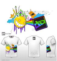 dA logo T shirt design contest by invalidAbsence