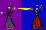 Metal Sonic y Gaiden by MetalSonicX10