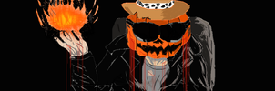 dross halloween by StratoMaiden