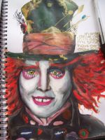 As mad as a Hatter by pencil-to-papaer