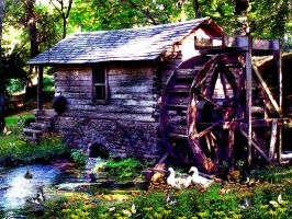 Down By The Old Mill Stream by PridesCrossing