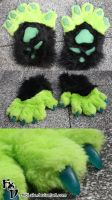 New Yari handpaws by Chibi-Alu